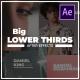 Big Lower Thirds