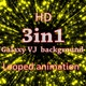 HD Galaxy VJ Background 3in1