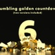 Crumbling Golden Ten Second Countdown