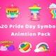 20 Pride Day Symbols | Animation Pack