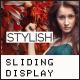 TRENDY | Multi-Purpose Sliding Display