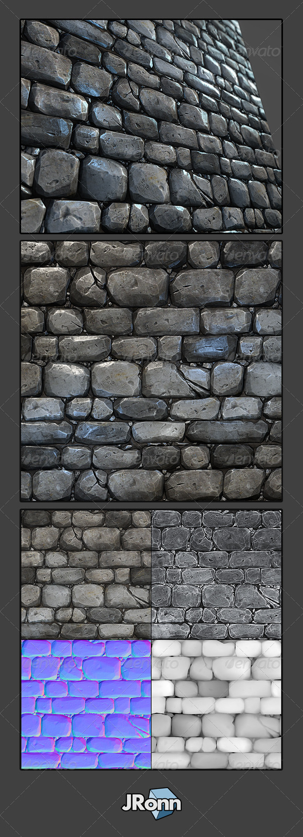 Stone Wall Tile 03