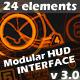 Modular HUD Interface v 3.0