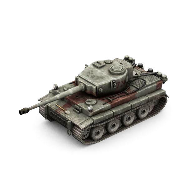Military Modern War Heavy Tank (Red)