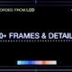 Pixels Frames & Details
