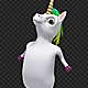 Dancing Pony Unicorn - Disco