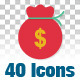 40 Animated Icons