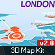 Infographics 3D Map Kit