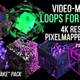 3D Video Mapping Loops for Cubes | Quake Pack | 6 Loops | 4K Resolution | Projection Mapping