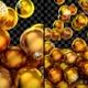 Gold Christmas Balls Transitions