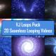 Outer Space Journey VJ Loop Pack 4K - 20 Loops