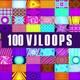100 Neon Vj Loops Pack