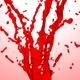 Red Color Splash