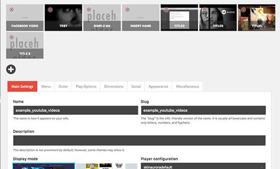 Video Gallery WordPress Plugin /w YouTube, Vimeo, Facebook pages - 10