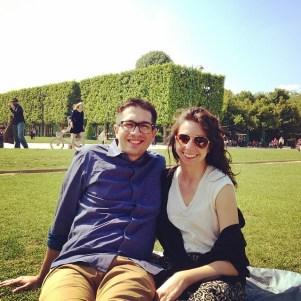 Jardin Du Champs De Mars
