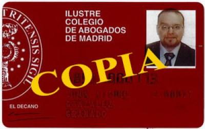 Carnet Colegiado JuanMi 68517