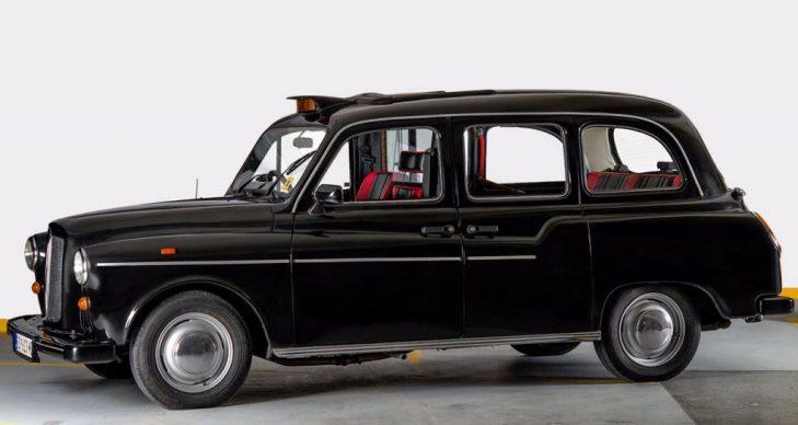 prevoz putnika oldtajmer Londinski taksi