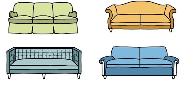 10 sofa za sva vremena