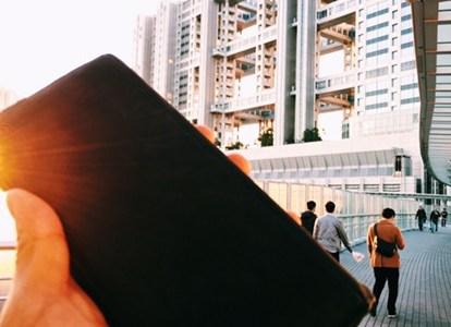 ココマイスターの財布と旅するシリーズ:お台場へ、財布とともに旅してきた
