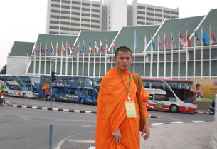 Ven. Thach Preichea Koeun, the editor of a weekly paper covering the Khmer Krom community, fears deportation from Cambodia due to the content of his editorials.