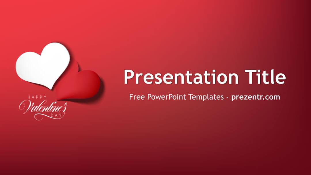 Free Valentines Day PowerPoint Template Prezentr