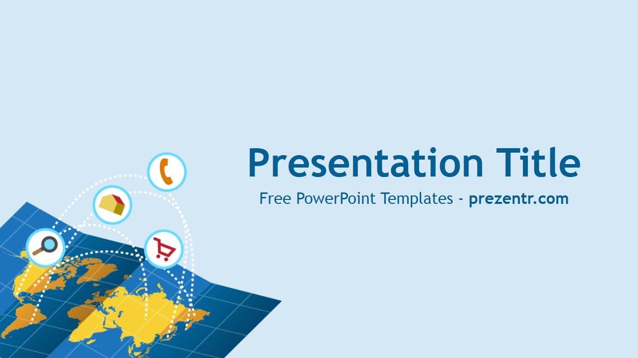 Free Trade PowerPoint Template Prezentr PowerPoint Templates