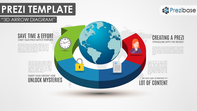 Infographic Amp Diagram Prezi Templates