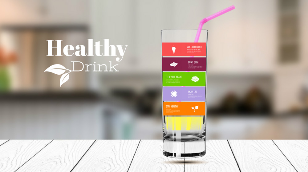 Healthy Drink Prezi Template Prezibase