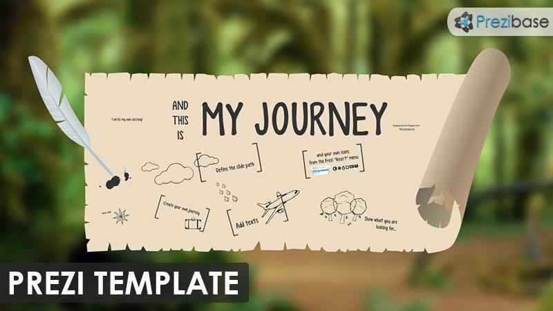 My Journey Prezi Template Prezibase