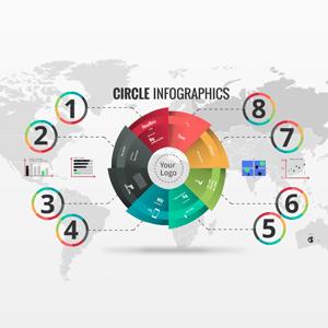 Circle Infographics - Prezi Template