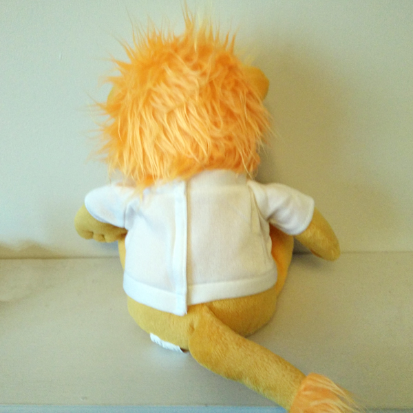 PERSONALISED LEON THE LION TEDDY BACK