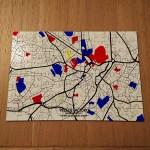 MEMORY MAP A4 JIGSAW