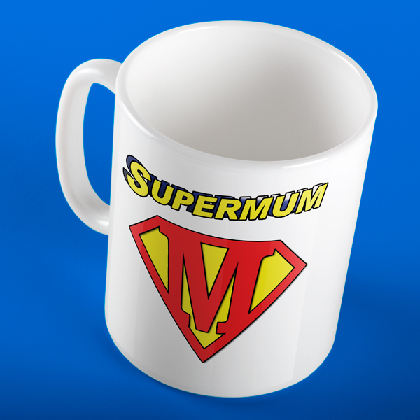 SUPERMUM SUPERHERO PERSONALISED MUG
