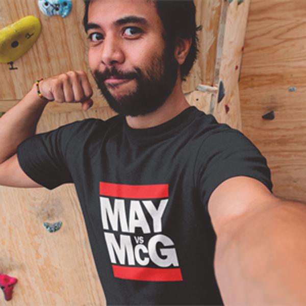 HIP HOP STYLE T-SHIRT MAY vs McG