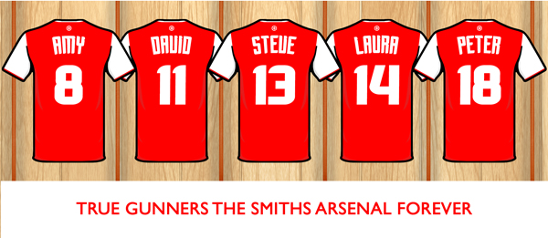sports shoes 2f4d9 fd5a8 PERSONALISED ARSENAL DRESSING ROOM MUG