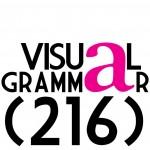 visual grammar 216