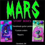 MARS Stomp Boxes PRFM Lorain vendors Fall 2018
