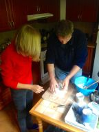 baking bread with Jeremy