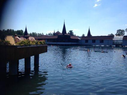 Hévíz lake
