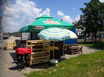road-side fruit stands!