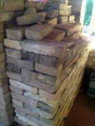 bricks made of mud