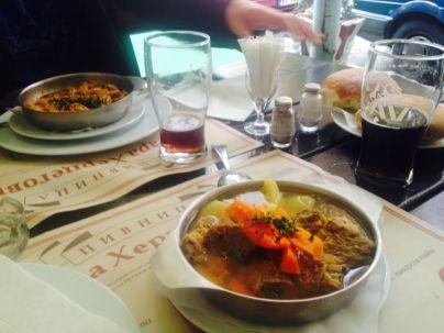 """dinner in """"Stara Herzegovina"""""""
