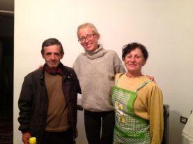 Vasil and Pandora - our kind hosts