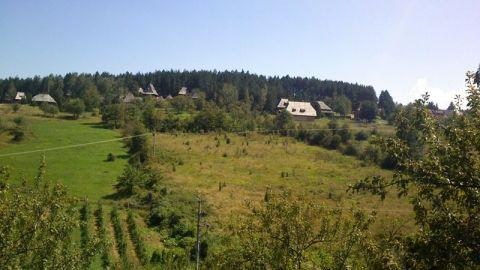 on the way to Sevojno and Uzice