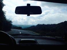on the way to Veles lake