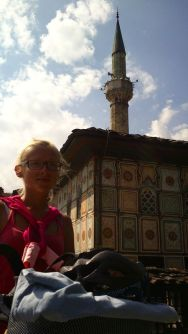 the Colored (and famous) Mosque