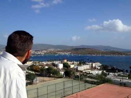 view on bodrum
