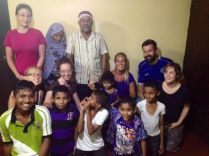 Firsouse, Shihama kids & cousins as well as 4 hungarian couchsurfers visiting and listening to our hungary stories :)