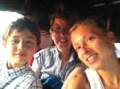 another guest, Michaela and her son who live in Japan