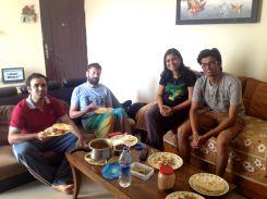 good morning with Saurav
